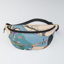12,000pixel-500dpi - Mizuno Toshikata - Top Quality Art - First Warbling Fanny Pack