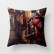Dragon Age - A moment of Reflection Throw Pillow