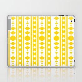 Tribal pattern Yellow Laptop & iPad Skin