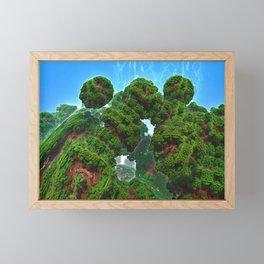 Bacterium Hedgerow Framed Mini Art Print