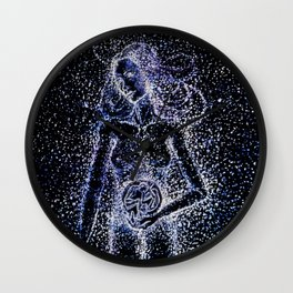 Nuit - The Starry Goddess Wall Clock