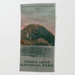 Terra Nova National Park Beach Towel