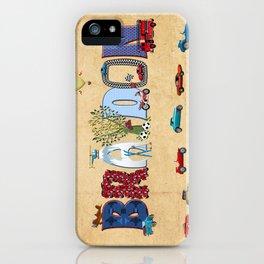 BRAYDON / personalised name illustration iPhone Case