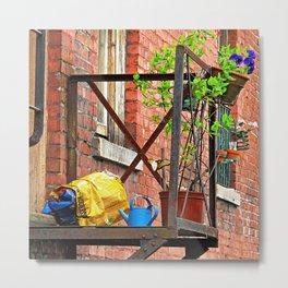 Urban Garden Metal Print