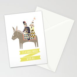 Its a Small World Stationery Cards