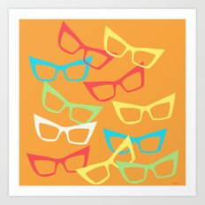 Becoming Spectacles Art Print