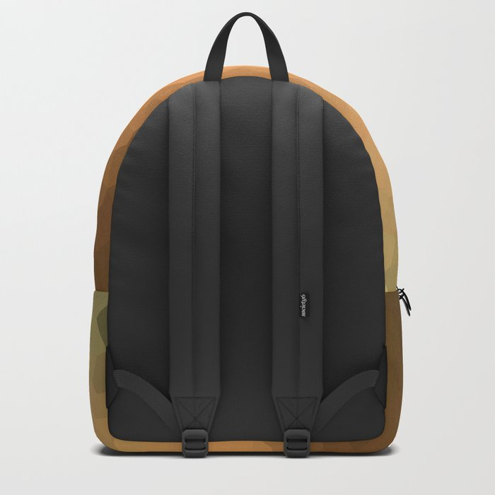 """Abstract pattern """"Sunny day """". Backpack"""
