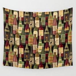 Wine Bottles Wall Tapestry