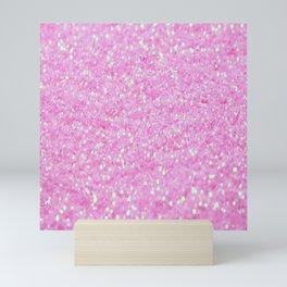 Pink Glitter Mini Art Print