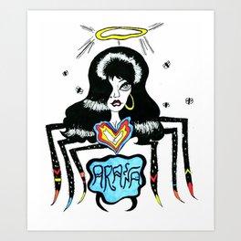 ARAÑA Art Print