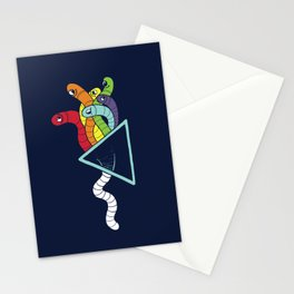 Dark side of the Worm Stationery Cards