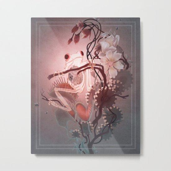 Clockwork Frog Metal Print