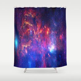 Core of the Milkyway Shower Curtain