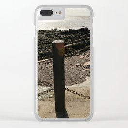 Weston Beach View Clear iPhone Case