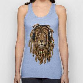 Lion Dreadlocks Rastafari T-Shirt & accessories Unisex Tank Top