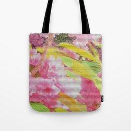 cherry blossom tiles Tote Bag