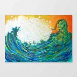 I AM Ocean Canvas Print