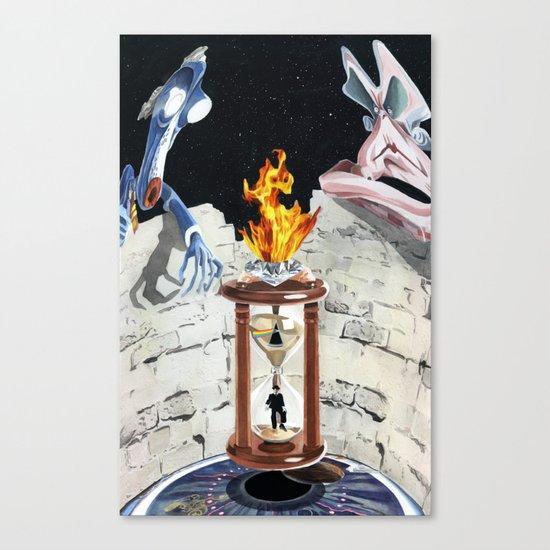 Rock & Roll Comics: Pink Floyd Canvas Print