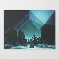 tron Canvas Prints featuring tron. by Broc James
