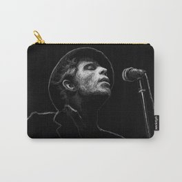 Tom Waits (scribble style) Carry-All Pouch