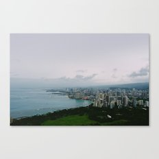 From Diamond Head Canvas Print