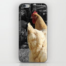 Another Dramatic Chicken iPhone Skin