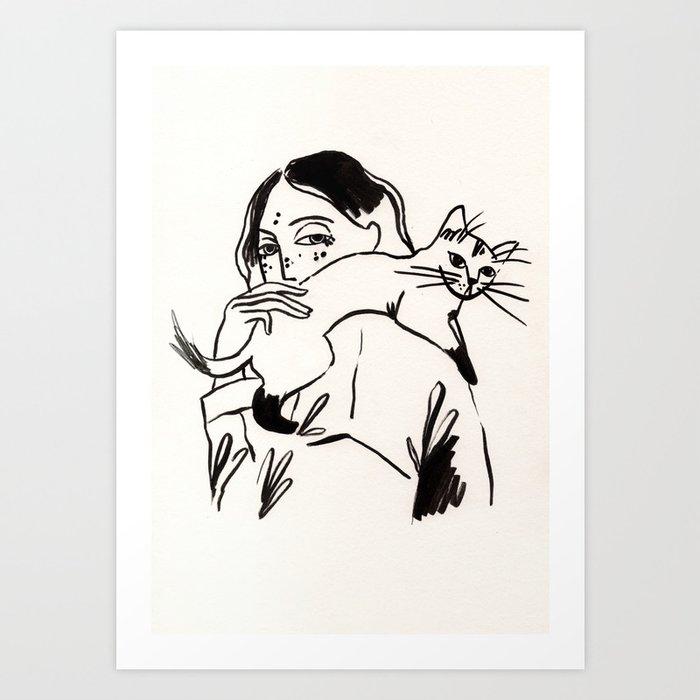 Those feelings Art Print