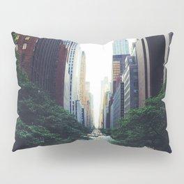New York City Street Skyscapers Travel Wanderlust #tapestry Pillow Sham