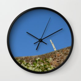 Leading to nowhere Wall Clock