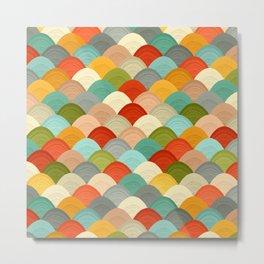 yarn hill dollops Metal Print