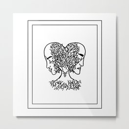 Geminis Metal Print