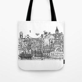 Busy City – Bristol, UK Tote Bag