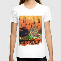 moscow T-shirts featuring Moscow  by sladja