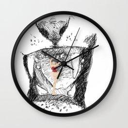 Pin-up Wall Clock