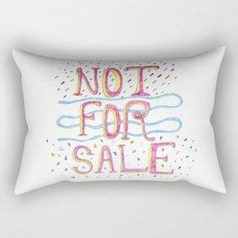 Not For Sale Rectangular Pillow