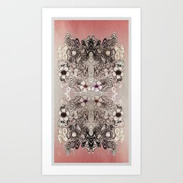 Entangled Bouquet Art Print
