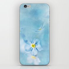 forget-me-not iPhone & iPod Skin