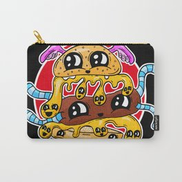 Fast Food FRENZY - The Burger Squeeb Mash Up! Carry-All Pouch