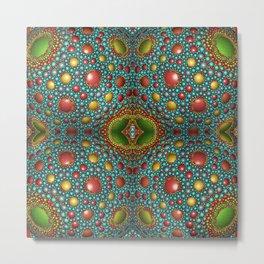 Vintage beautiful mosaic Metal Print