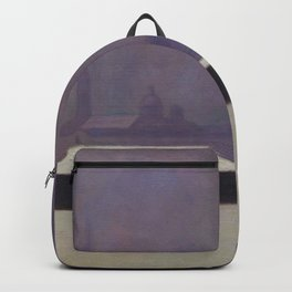 "Félix Vallotton ""La Néva, brume légère (The Neva, light haze)"" Backpack"