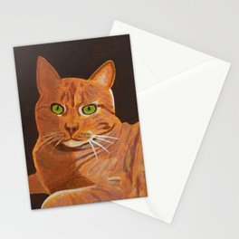 Tabby Cat Stationery Cards