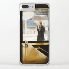 """""""SUBWAY INN"""" Clear iPhone Case"""