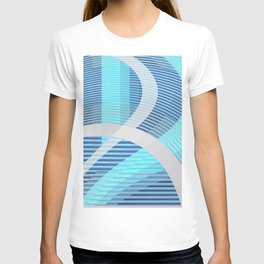 Resonance (blue-aqua) T-shirt