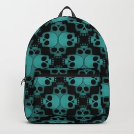 Cool Skull Jigsaw Backpack