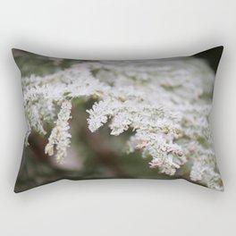 Frozen thuja Rectangular Pillow