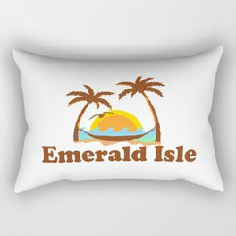 Emerald Isle - North Carolina. Rectangular Pillow