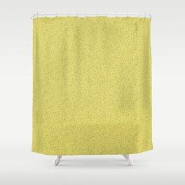 Yellow rubber flooring Shower Curtain