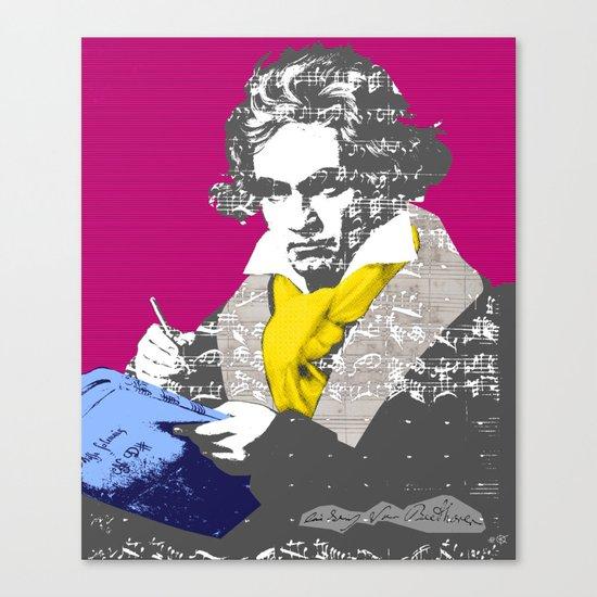 Ludwig van Beethoven 7 Canvas Print