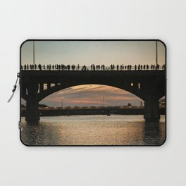 People at sunset Laptop Sleeve