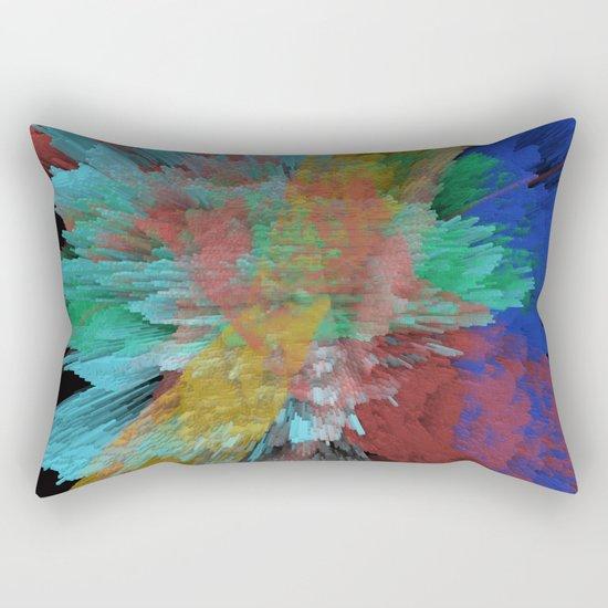 Abstract 123 Rectangular Pillow